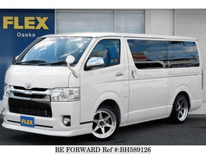 Used 2019 TOYOTA HIACE VAN BH589126 for Sale