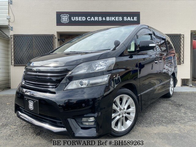 Used 2010 TOYOTA VELLFIRE BH589263 for Sale