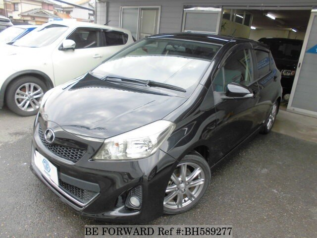 Used 2011 TOYOTA VITZ BH589277 for Sale