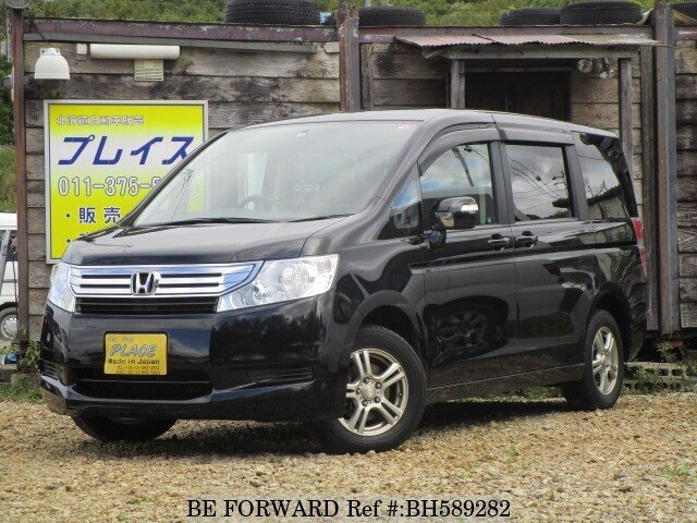 Used 2010 HONDA STEP WGN BH589282 for Sale