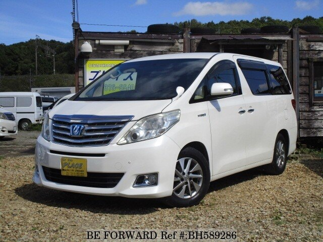 Used 2012 TOYOTA ALPHARD HYBRID BH589286 for Sale
