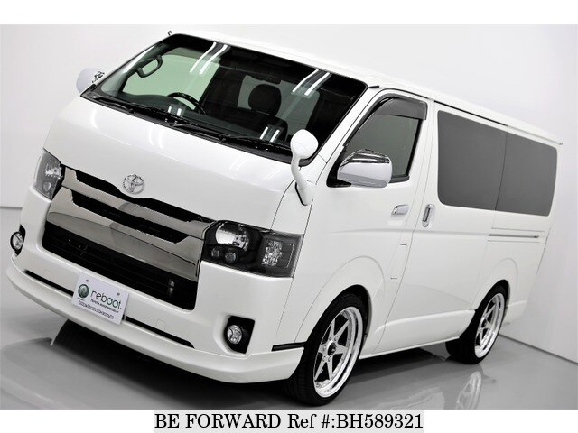 Used 2017 TOYOTA HIACE VAN BH589321 for Sale