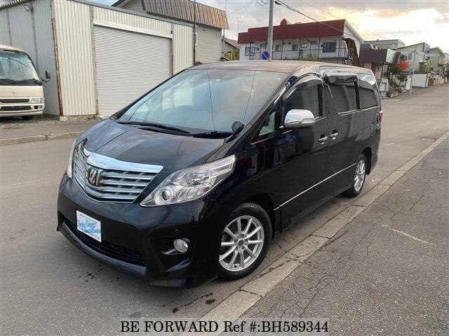 Used 2011 TOYOTA ALPHARD BH589344 for Sale