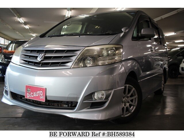 Used 2005 TOYOTA ALPHARD BH589384 for Sale
