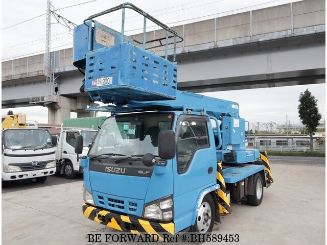 Used 2007 ISUZU ELF TRUCK BH589453 for Sale
