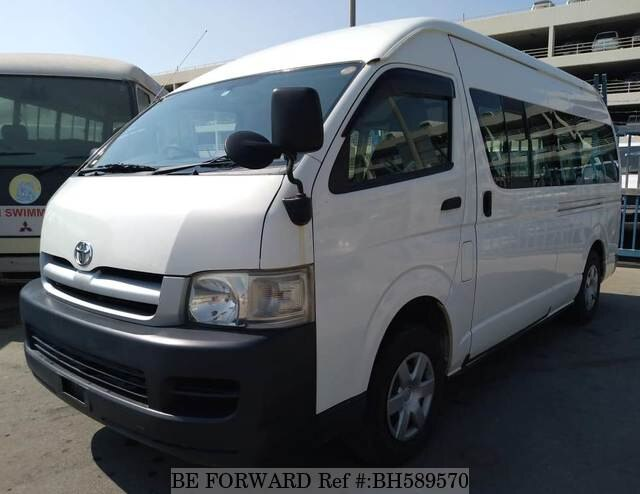 Used 2007 TOYOTA HIACE COMMUTER BH589570 for Sale
