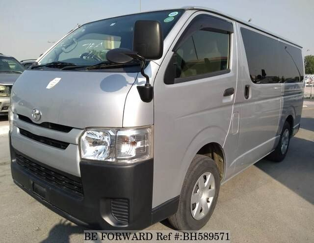 Used 2014 TOYOTA HIACE VAN BH589571 for Sale
