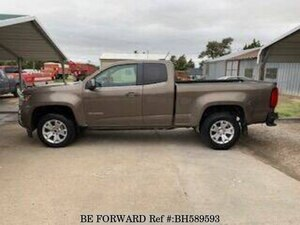 Used 2016 CHEVROLET COLORADO BH589593 for Sale