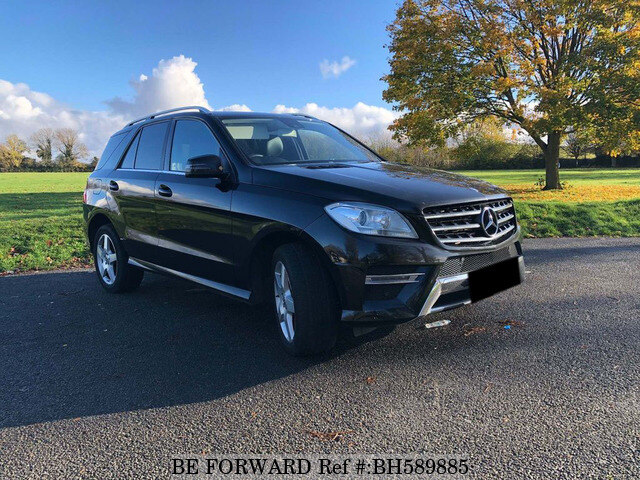 Used 2014 MERCEDES-BENZ ML CLASS BH589885 for Sale