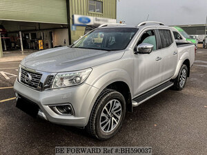 Used 2017 NISSAN NAVARA BH590037 for Sale