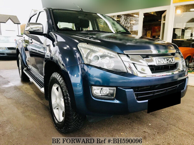 Used 2012 ISUZU D-MAX BH590096 for Sale