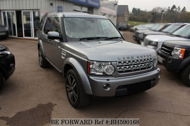 Used 2012 LAND ROVER DISCOVERY 4 BH590168 for Sale