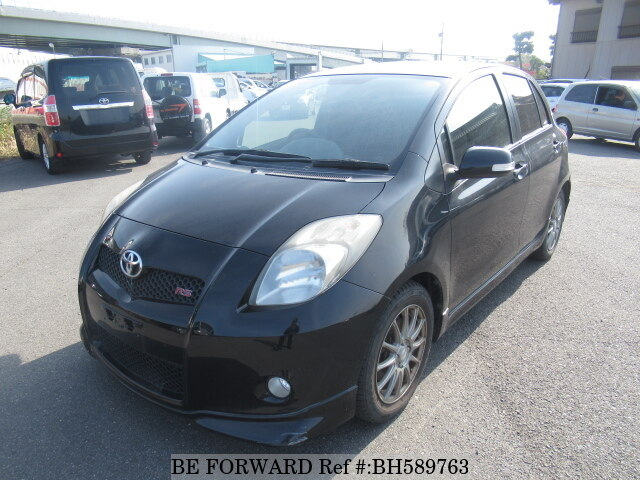 Used 2008 TOYOTA VITZ BH589763 for Sale