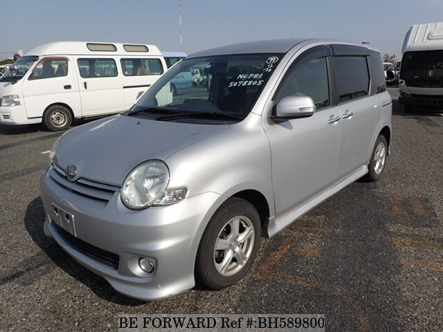 Used 2008 TOYOTA SIENTA BH589800 for Sale