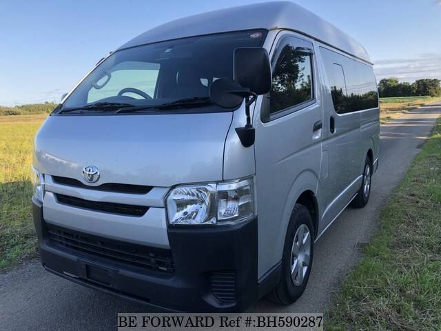 Used 2016 TOYOTA HIACE VAN BH590287 for Sale