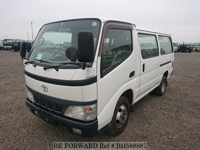 Used 2003 TOYOTA DYNA ROUTE VAN BH588887 for Sale