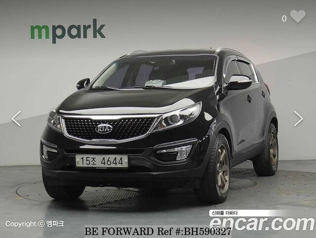 Used 2015 KIA SPORTAGE BH590327 for Sale