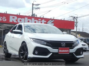 Used 2018 HONDA CIVIC BH590373 for Sale