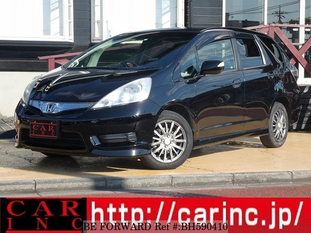 Used 2012 HONDA FIT SHUTTLE HYBRID BH590410 for Sale