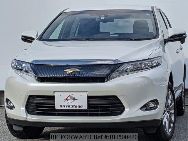 Used 2017 TOYOTA HARRIER BH590420 for Sale