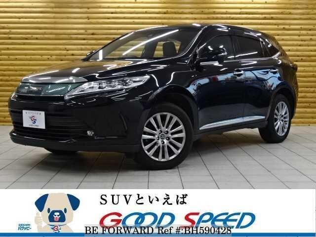 Used 2017 TOYOTA HARRIER BH590428 for Sale