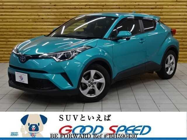 Used 2017 TOYOTA C-HR BH590430 for Sale