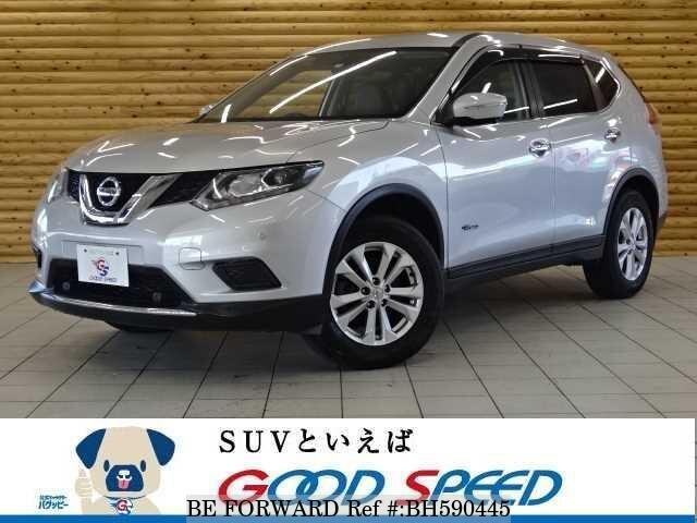 Used 2015 NISSAN X-TRAIL BH590445 for Sale