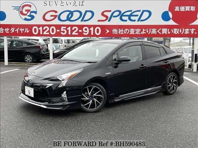 Used 2017 TOYOTA PRIUS BH590483 for Sale