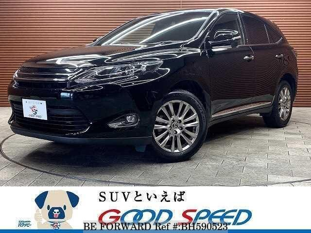 Used 2015 TOYOTA HARRIER BH590523 for Sale