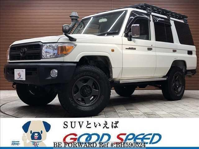 Used 2015 TOYOTA LAND CRUISER BH590524 for Sale