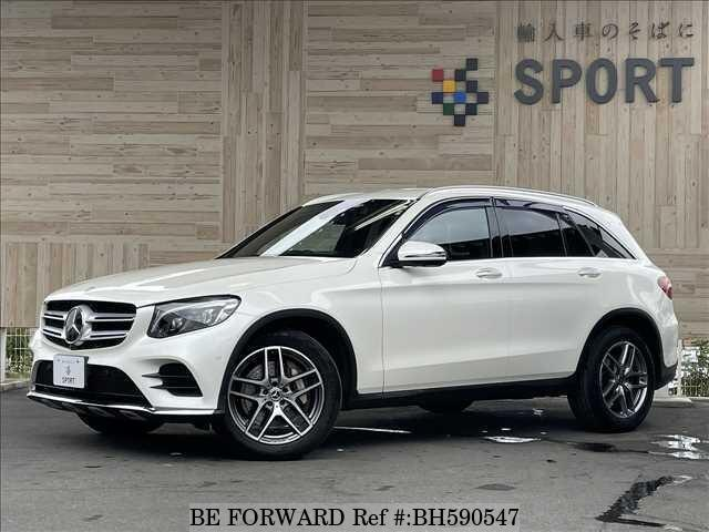 Used 2017 MERCEDES-BENZ GLC-CLASS BH590547 for Sale