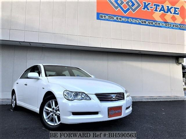 Used 2005 TOYOTA MARK X BH590563 for Sale