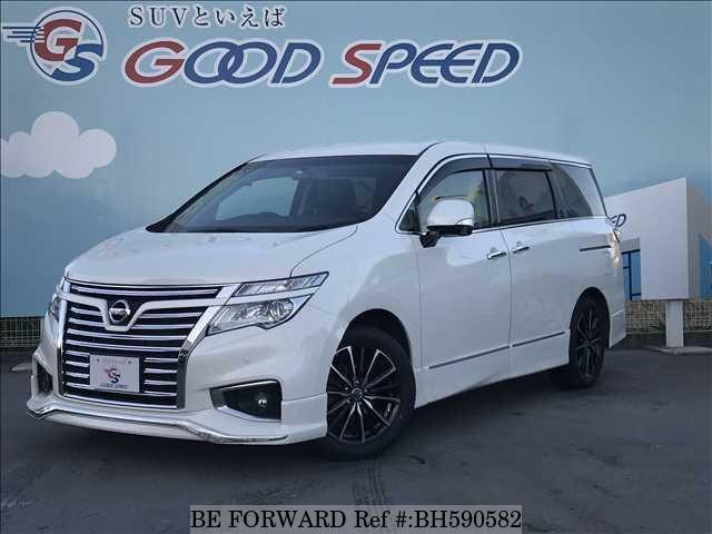 Used 2015 NISSAN ELGRAND BH590582 for Sale