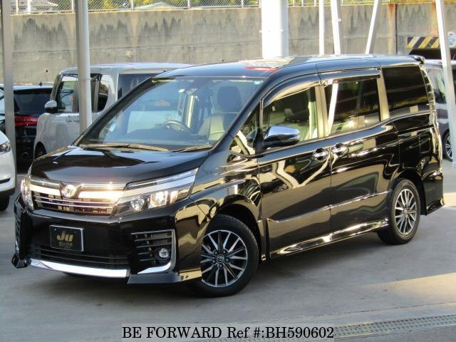 Used 2016 TOYOTA VOXY BH590602 for Sale