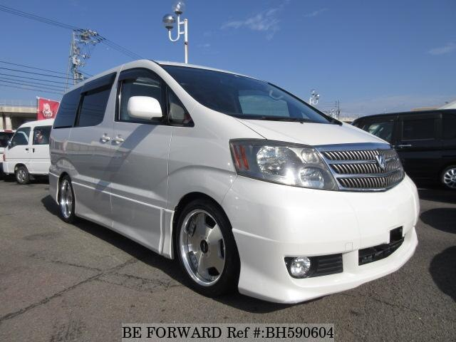 Used 2002 TOYOTA ALPHARD BH590604 for Sale