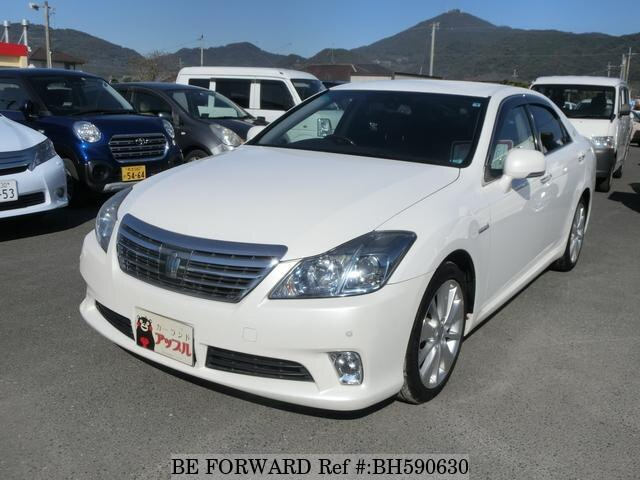 Used 2010 TOYOTA CROWN HYBRID BH590630 for Sale