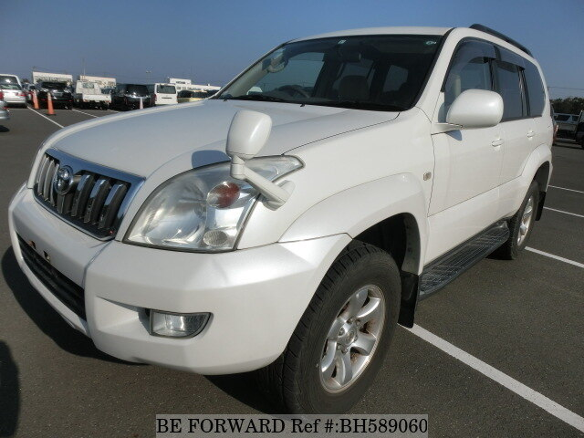 Used 2005 TOYOTA LAND CRUISER PRADO BH589060 for Sale