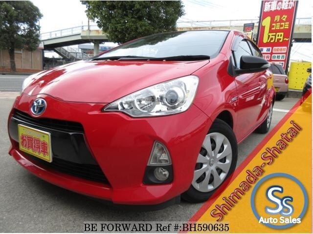 Used 2014 TOYOTA AQUA BH590635 for Sale