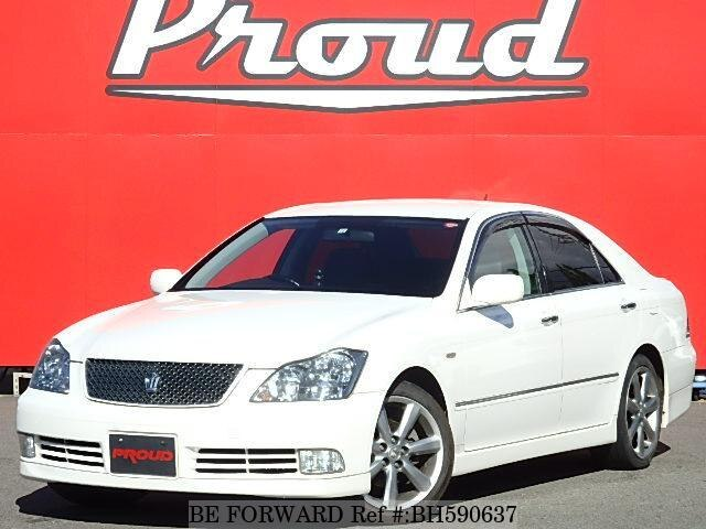 Used 2004 TOYOTA CROWN BH590637 for Sale