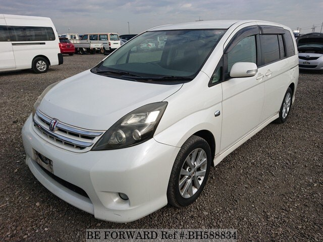 Used 2010 TOYOTA ISIS BH588834 for Sale