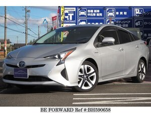 Used 2015 TOYOTA PRIUS BH590658 for Sale