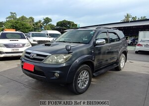 Used 2006 TOYOTA FORTUNER BH590661 for Sale