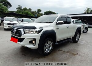 Used 2016 TOYOTA HILUX BH590662 for Sale