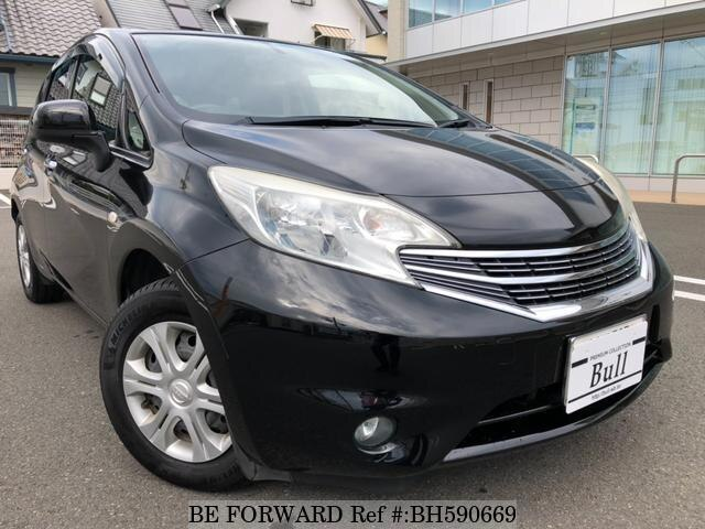 Used 2014 NISSAN NOTE BH590669 for Sale