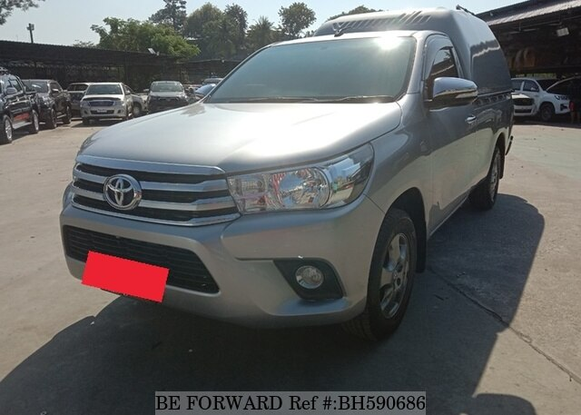 Used 2016 TOYOTA HILUX BH590686 for Sale