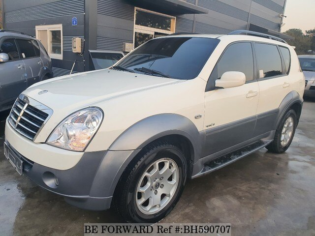 Used 2007 SSANGYONG REXTON BH590707 for Sale