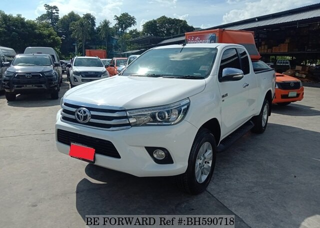 Used 2017 TOYOTA HILUX BH590718 for Sale
