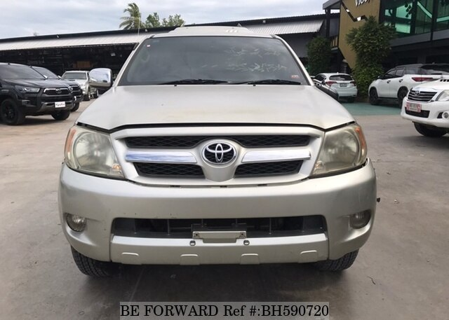 Used 2008 TOYOTA HILUX BH590720 for Sale