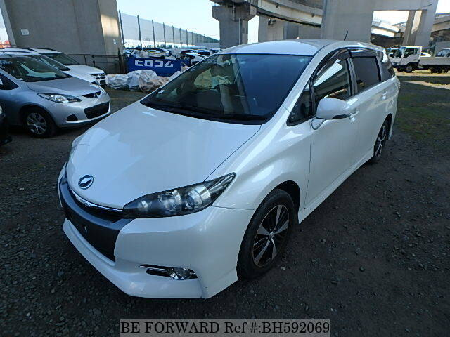 Used 2012 TOYOTA WISH BH592069 for Sale