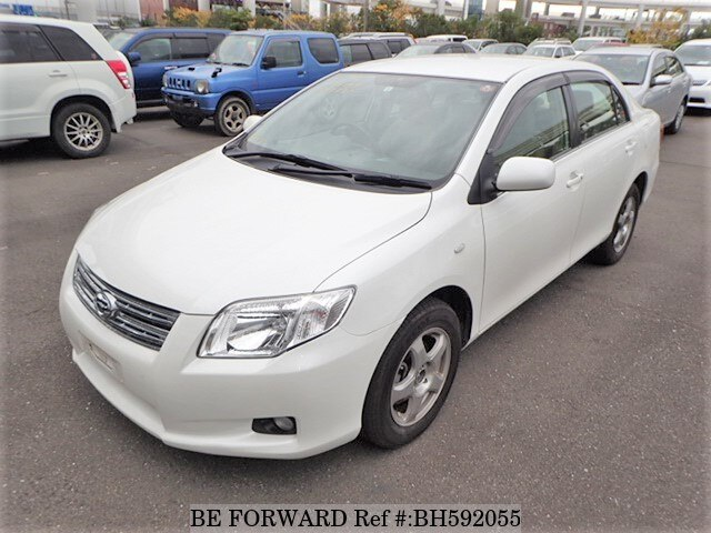 Used 2008 TOYOTA COROLLA AXIO BH592055 for Sale